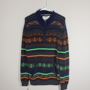 Koto By Anthropologie Peace sweater quarter zip
